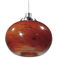 Minx 1 Light 7 inch Satin Nickel RapidJack Pendant Ceiling Light