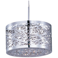 ET2 EP96070-10PC Inca 1 Light 7 inch Polished Chrome RapidJack Pendant Ceiling Light