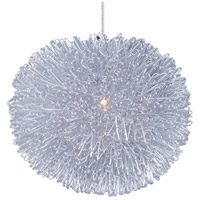 ET2 Minx 1 Light RapidJack Pendant (canopy sold separately) in Brushed Aluminum EP96075-AL