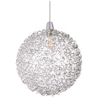 ET2 EP96080-78 Starburst 1 Light 4 inch RapidJack Pendant Ceiling Light in Mesh