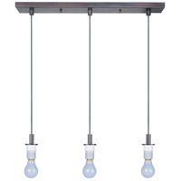 ET2 Carte 3 Light Pendant System in Bronze ES92003-BZ