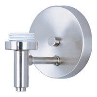 ET2 Carte 1 Light Wall Mount in Satin Nickel ES92191