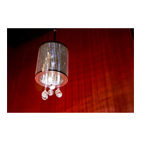 ET2 E24384-91PC Illusion 1 Light 7 inch Polished Chrome Mini Pendant Ceiling Light alternative photo thumbnail