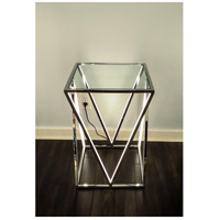 ET2 E71000-PC Victory 24 X 16 inch Polished Chrome Accent Table alternative photo thumbnail