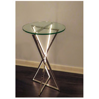 ET2 E71011-PC York 30 X 16 inch Polished Chrome Accent Table alternative photo thumbnail