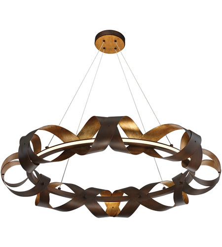 Bronze Metal Banderia Chandeliers