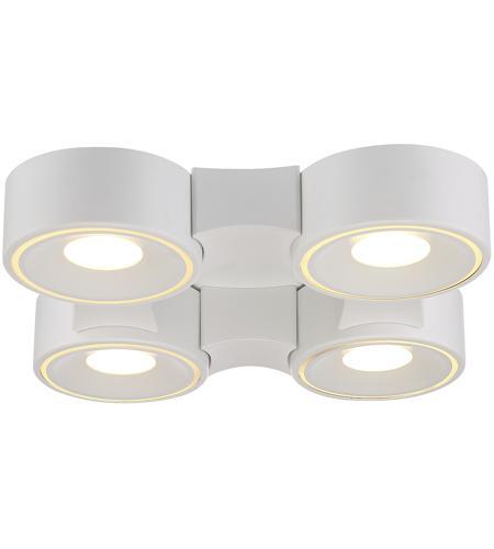 Eurofase 30277 014 Stavro Led 15 Inch White Flush Mount Ceiling Light