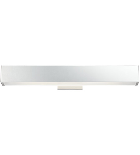 EuroFase Chrome Metal Anello Wall Sconces