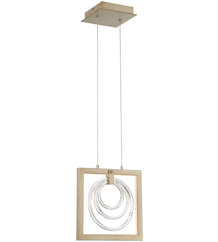 EuroFase 34054-017 Corinna LED 1 inch Antique Silver Pendant Ceiling Light photo thumbnail