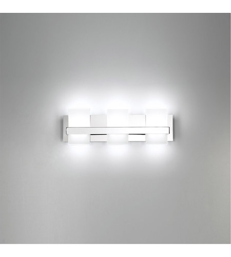 EuroFase 35655-015 Cambridge LED 21 inch Chrome Vanity Light Wall Light alternative photo thumbnail