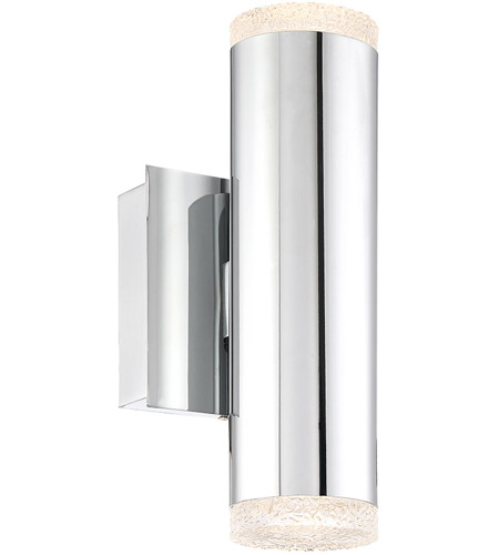 EuroFase 35688-013 Seaton LED 5 inch Chrome Wall Sconce Wall Light photo thumbnail