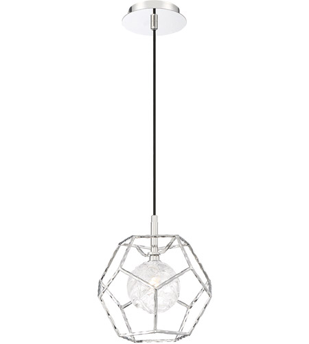EuroFase 35902 010 Norway LED 2 Inch Chrome Pendant Ceiling Light Photo