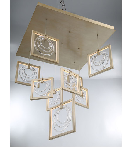 EuroFase 34055-014 Corinna LED 3 inch Silver Chandelier Ceiling Light alternative photo thumbnail