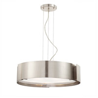 Dervish 5 Light 22 inch Nickel Pendant Ceiling Light
