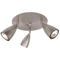 EuroFase 13732-011 Mya 3 Light 120V Satin Nickel Track Ceiling Light