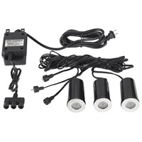 Signature 12V 1 watt Metal Inground Outdoor Light Kit