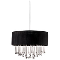 Penchant 6 Light 24 inch Chrome Pendant Ceiling Light