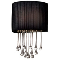 Penchant 1 Light 10 inch Chrome Wall Sconce Wall Light