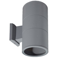 EuroFase 19204-017 Signature 2 Light 12 inch Grey Outdoor Wall Sconce