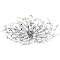 EuroFase 19384-016 Felina 24 Light 45 inch Chrome Flush Mount Ceiling Light