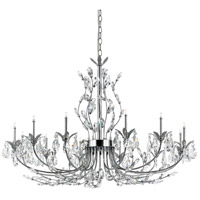 EuroFase 19394-015 Giselle 12 Light 35 inch Chrome Chandelier Ceiling Light
