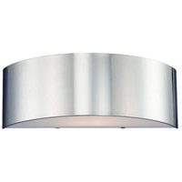 Dervish 1 Light 14 inch Chrome Wall Sconce Wall Light