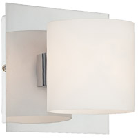 EuroFase 20378-028 Geos 1 Light 5 inch Chrome Wall Sconce Wall Light