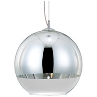 Chromos 1 Light 12 inch Chrome Pendant Ceiling Light