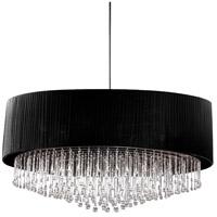 EuroFase 20586-010 Penchant 6 Light 35 inch Chrome Pendant Ceiling Light
