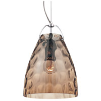 Amero 1 Light 7 inch Chrome Pendant Ceiling Light