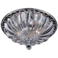 EuroFase 22942-012 Vintage 2 Light 12 inch Chrome Flush Mount Ceiling Light