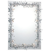 Relic 32 X 24 inch Chrome Wall Mirror