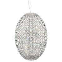 Encore 18 Light 16 inch Chrome Pendant Ceiling Light