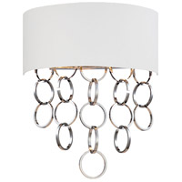 Novello 2 Light 16 inch Chrome Wall Sconce Wall Light