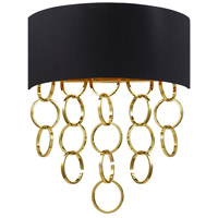 Novello 2 Light 16 inch Gold Wall Sconce Wall Light