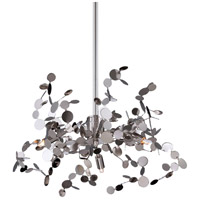 Divo 3 Light 20 inch Nickel Pendant Ceiling Light