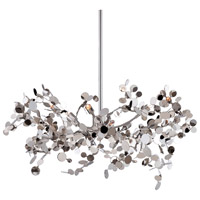 Divo 5 Light 26 inch Nickel Pendant Ceiling Light