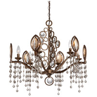 Capri 6 Light 26 inch Bronze Chandelier Ceiling Light