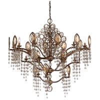 EuroFase 25657-012 Capri 21 Light 42 inch Bronze Chandelier Ceiling Light