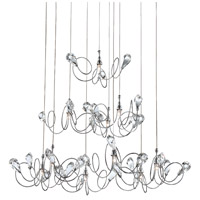 Volare 10 Light 29 inch Polished Chrome Pendant Ceiling Light
