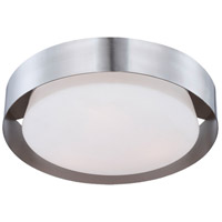 Saturn 3 Light 16 inch Nickel Flush Mount Ceiling Light