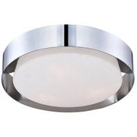 Saturn 3 Light 16 inch Chrome Flush Mount Ceiling Light