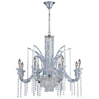 Nava 14 Light 35 inch Chrome Chandelier Ceiling Light