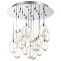Hazelton 19 Light 20 inch Chrome Chandelier Ceiling Light