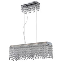 Fonte 10 Light 10 inch Polished Chrome Chandelier Ceiling Light