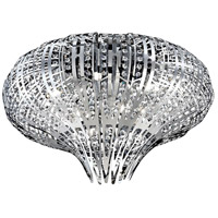 Monica 9 Light 27 inch Chrome Flush Mount Ceiling Light