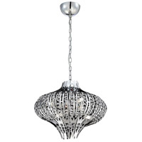 EuroFase 26330-013 Monica 6 Light 20 inch Chrome Chandelier Ceiling Light