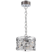 Corfo 6 Light 13 inch Chrome Chandelier Ceiling Light