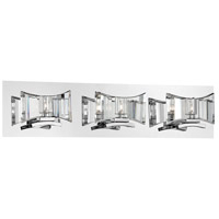 Uzo 3 Light 24 inch Chrome Bath Bar Wall Light