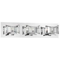 EuroFase 26348-018 Uzo 3 Light 24 inch Chrome Vanity Light Wall Light